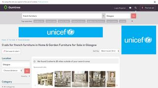 Used French Furniture