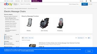 eBay Massage Chairs